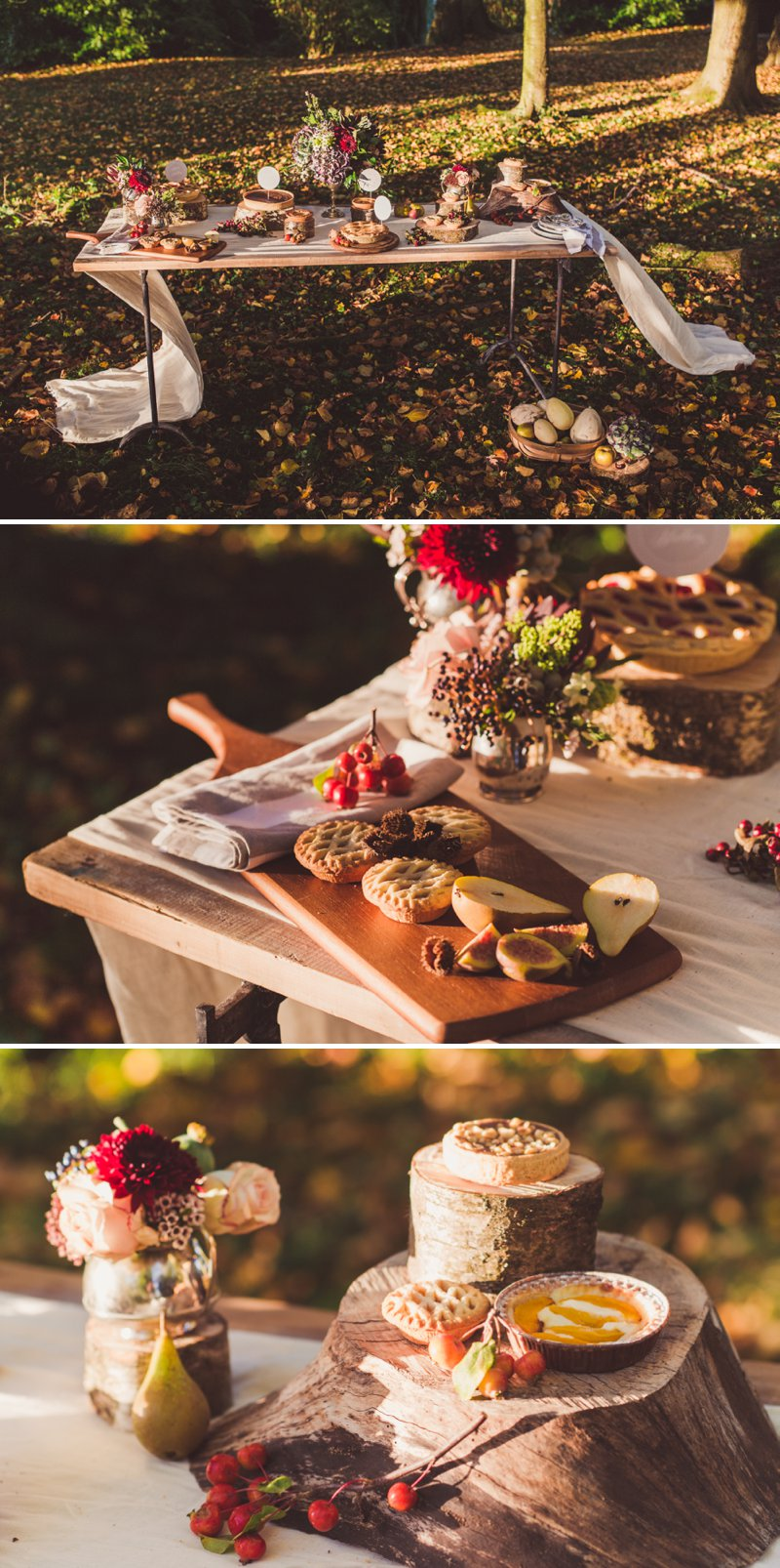 Autumn Fall Inspired Wedding Decor and Fashion Editorial by Rock My Wedding With Florals By Mrs Umbels, Make-up By Claire Salter Photographed By Rebekah J Murray._0022