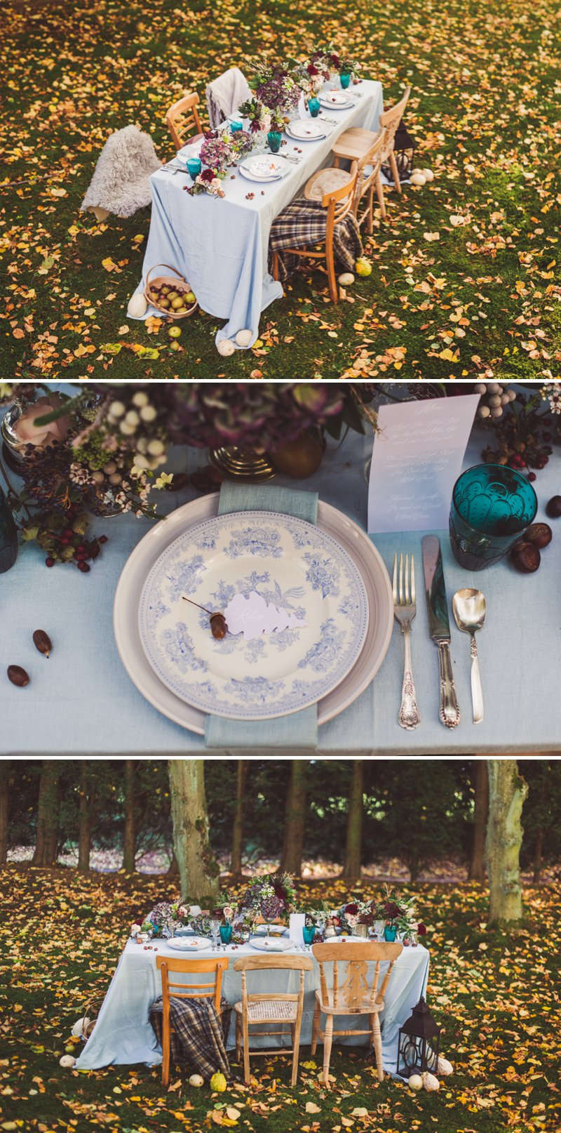 Autumn Fall Inspired Wedding Decor and Fashion Editorial by Rock My Wedding With Florals By Mrs Umbels, Make-up By Claire Salter Photographed By Rebekah J Murray._0028