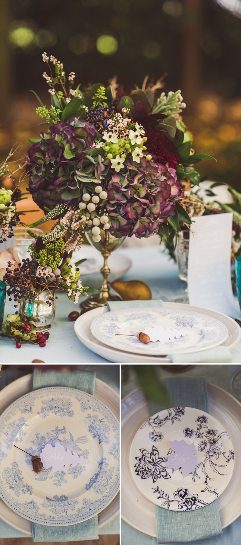 Autumn Fall Inspired Wedding Decor and Fashion Editorial by Rock My Wedding With Florals By Mrs Umbels, Make-up By Claire Salter Photographed By Rebekah J Murray._0031