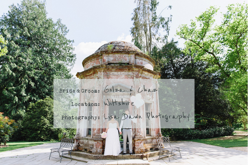 COVER Elegant Wedding At The Larmer Tree Gardens In Wiltshire With Bride In Eternity Bride Gown With A DC Bouquet Headpiece Images By Lisa Dawn Photography 0006 An Intimate Roman Temple Wedding.
