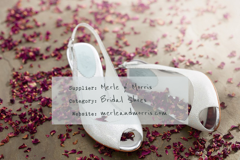 COVER The Debut Collection From Bridal Shoe Designers Merle And Morris Featuring Stylish And Comfortable Wedding Shoes With A Concealed Foam Layer 0001 Recommended   Merle & Morris.