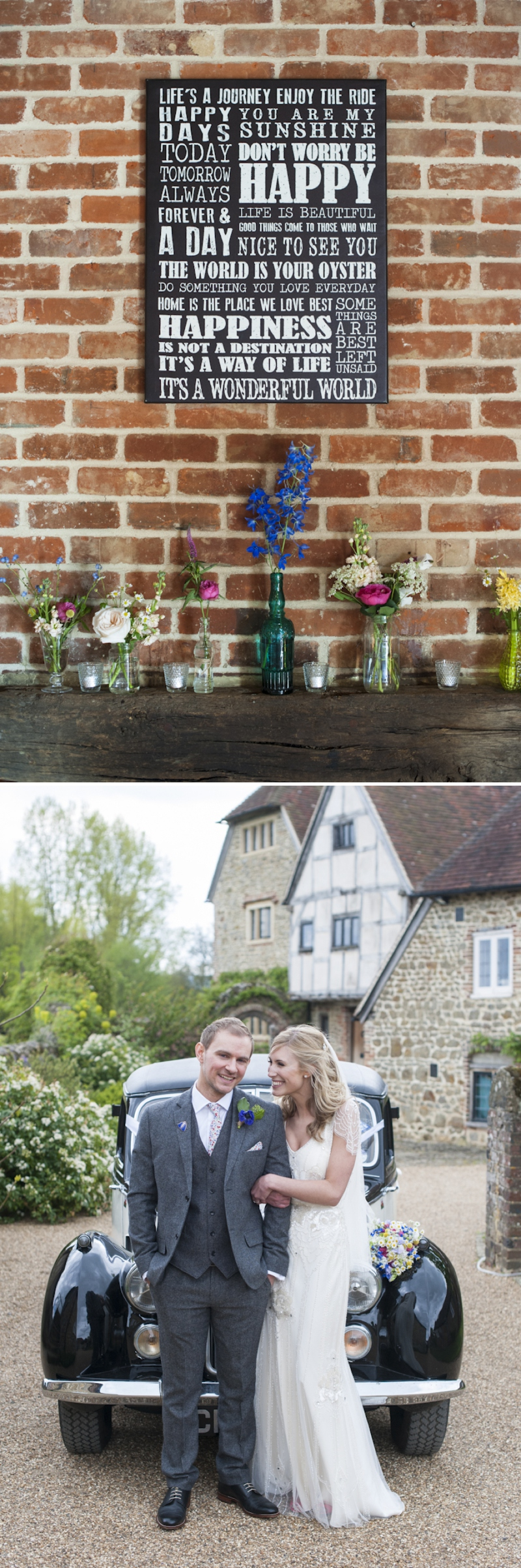 Eden by Jenny Packham in Ivory for a romantic rustic wedding at Grittenham Barn West Sussex_0378