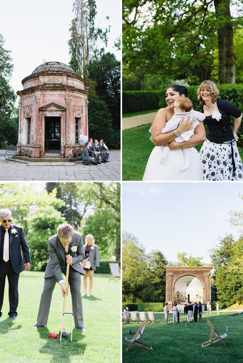 Elegant Wedding At The Larmer Tree Gardens In Wiltshire With Bride In Eternity Bride Gown With A DC Bouquet Headpiece Images By Lisa Dawn Photography_0010