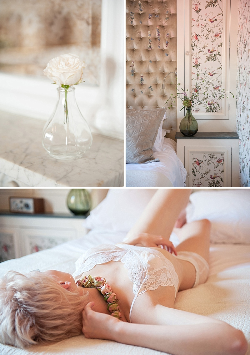 Pretty Boudoir Shoot at The George Hotel styled by B.Loved 0416 What Lies Beneath.