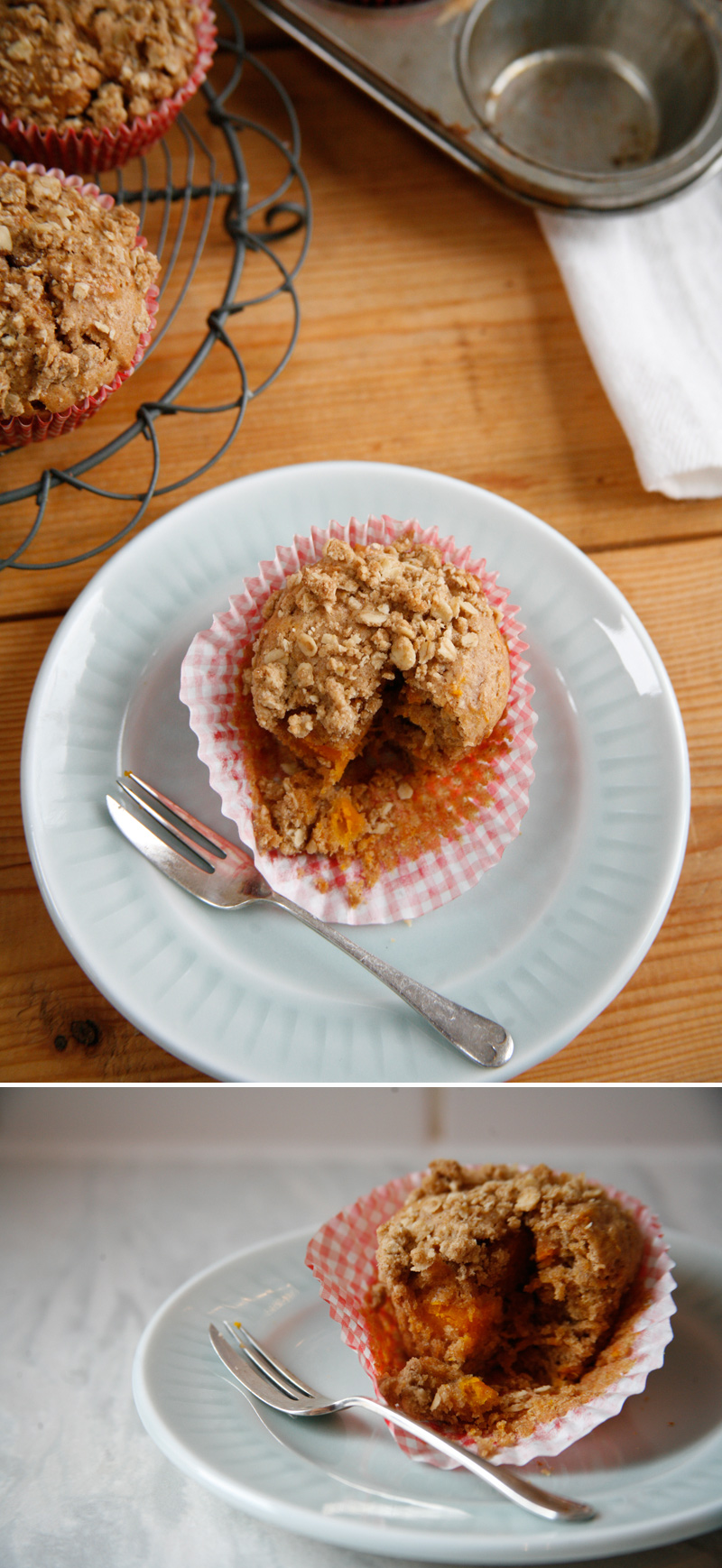 Quick and Easy Spiced Pumpkin Crumble Muffin recipe Friday Food   Spiced Pumpkin Crumble Muffins.