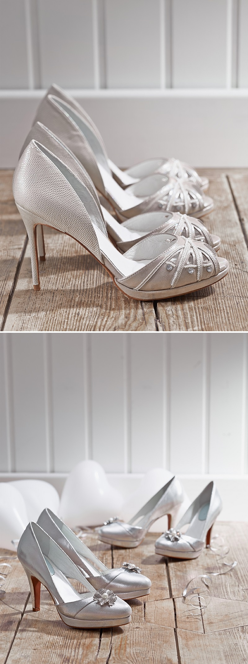 The Debut Collection From Bridal Shoe Designers Merle And Morris Featuring Stylish And Comfortable Wedding Shoes With A Concealed Foam Layer 0001 Recommended   Merle & Morris.