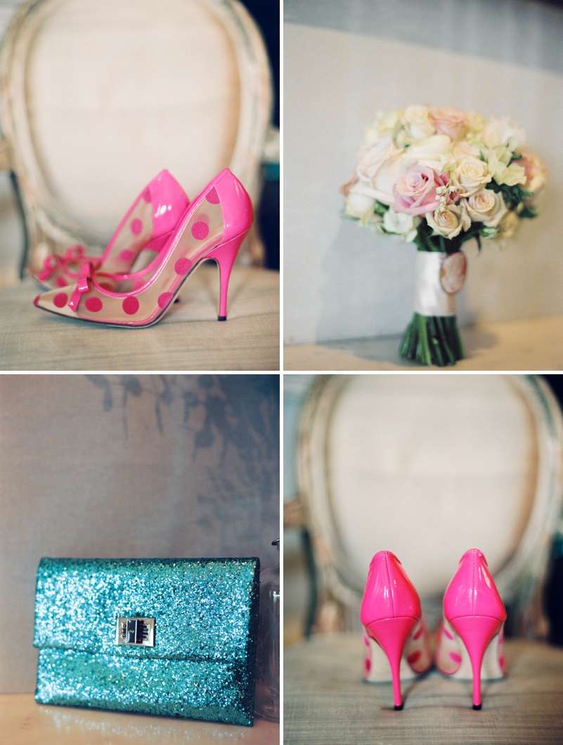 A sophisticated wedding at Babington house with Kate Spade pink shoes by Ann Kathrin Koch 0520 Contemporary Country.