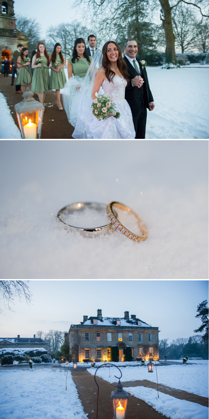 Babington House Winter Wedding