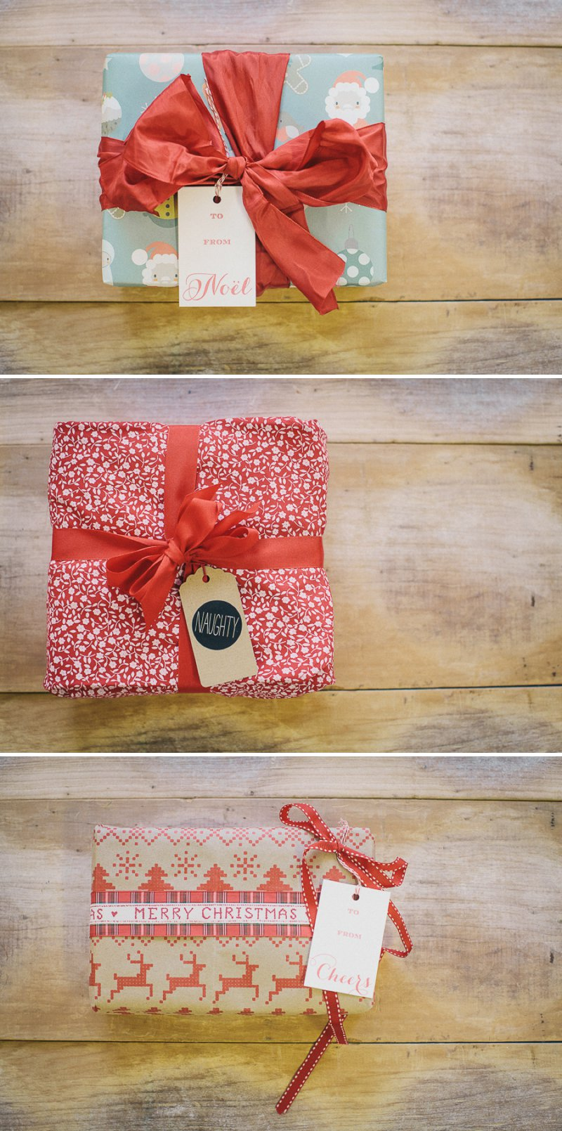 Nine Beautiful And Creative Christmas DIY Gift Wrap Ideas With Ribbons, Fun Gift Tags and Gorgeous Wrapping Paper From Etsy Suppliers._0001
