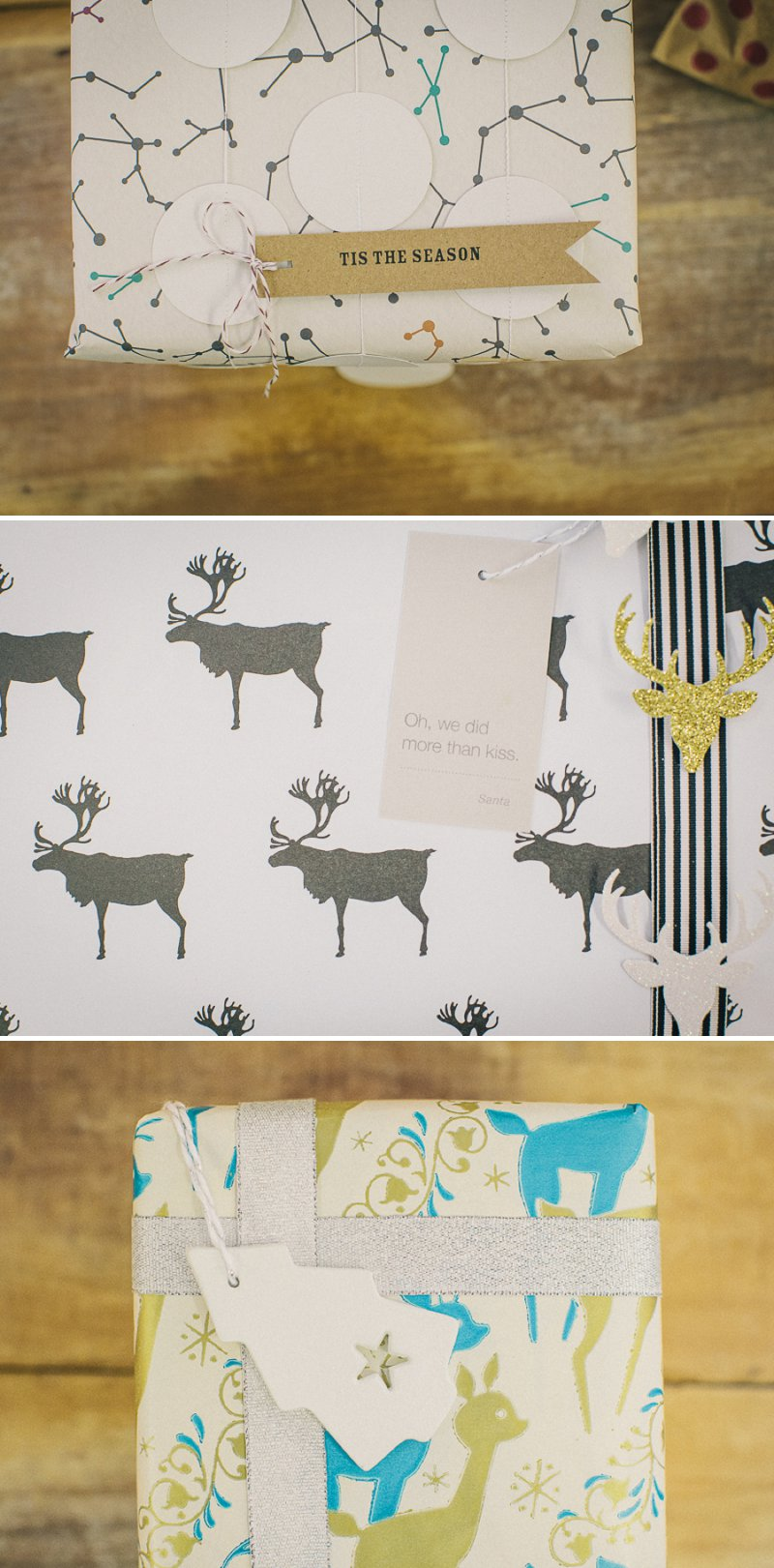 Nine Beautiful And Creative Christmas DIY Gift Wrap Ideas With Ribbons, Fun Gift Tags and Gorgeous Wrapping Paper From Etsy Suppliers._0004