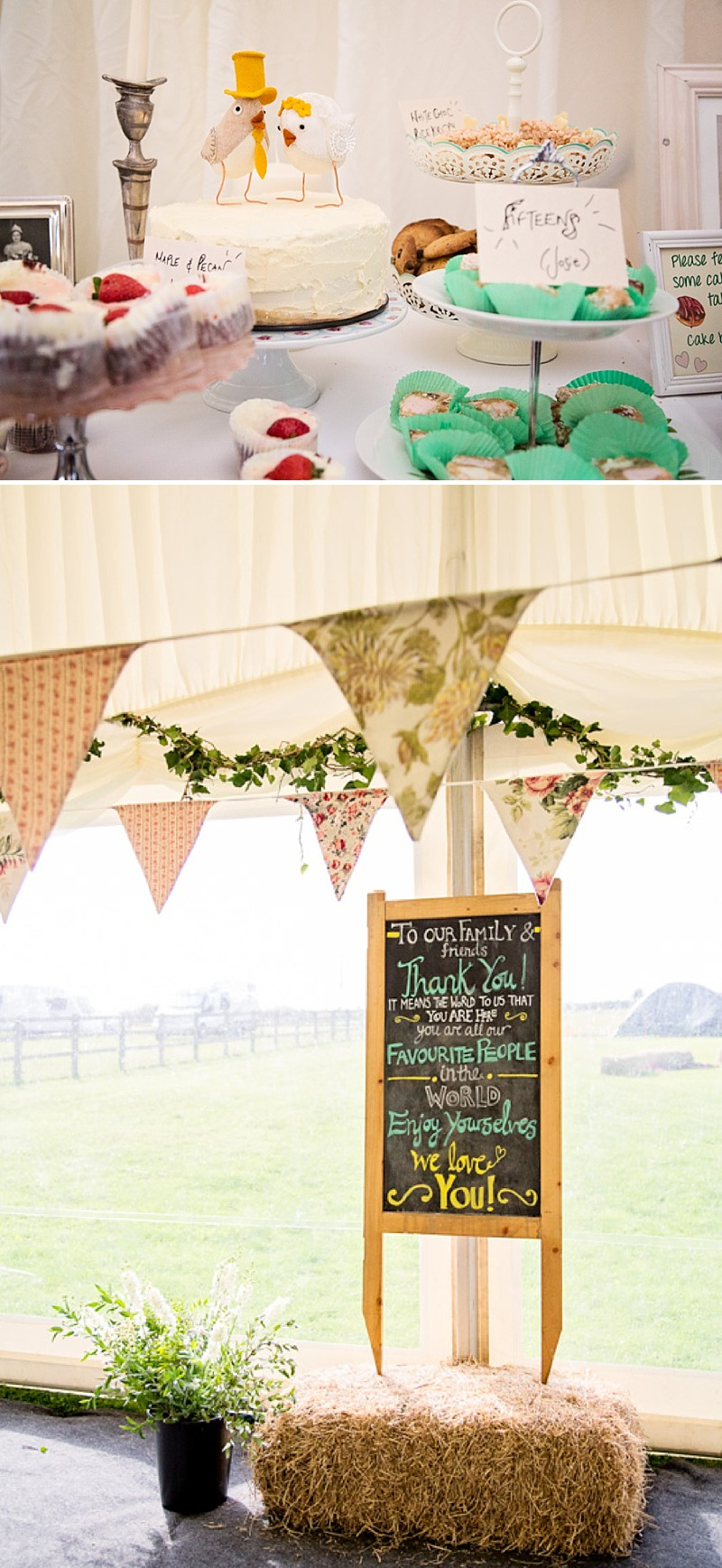 Rustic Marquee Wedding In The South West At Court Farm Near Bath With Bride In Charlie Brear Gown From The Decades Collection And Groom In Navy Reiss Suit rom Isabel Maria Of Allister Freeman Photography_0009