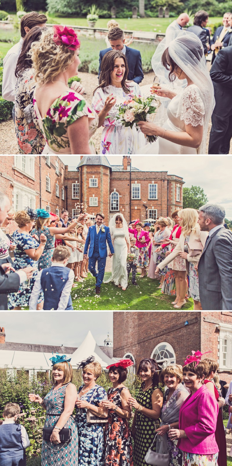 ecb5753e1750 ... A 1960s Country Garden Inspired Wedding At Iscoyd Park With A Charlie  Brear Wedding Dress And ...
