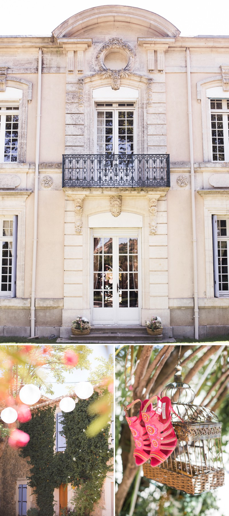 A Beautiful Destination Wedding at Chateau du Puits es Pratx in France With A Handmade Bohemian Wedding Dress And White Colour Scheme By MJ Photography. 0001 Champagne Love At The Château.