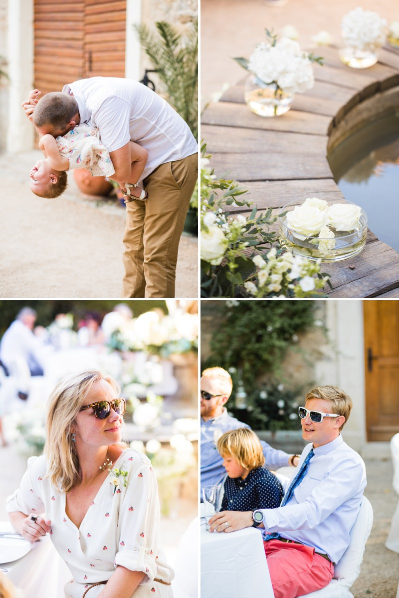 A Beautiful Destination Wedding at Chateau du Puits es Pratx in France With A Handmade Bohemian Wedding Dress And White Colour Scheme By M&J Photography._0008