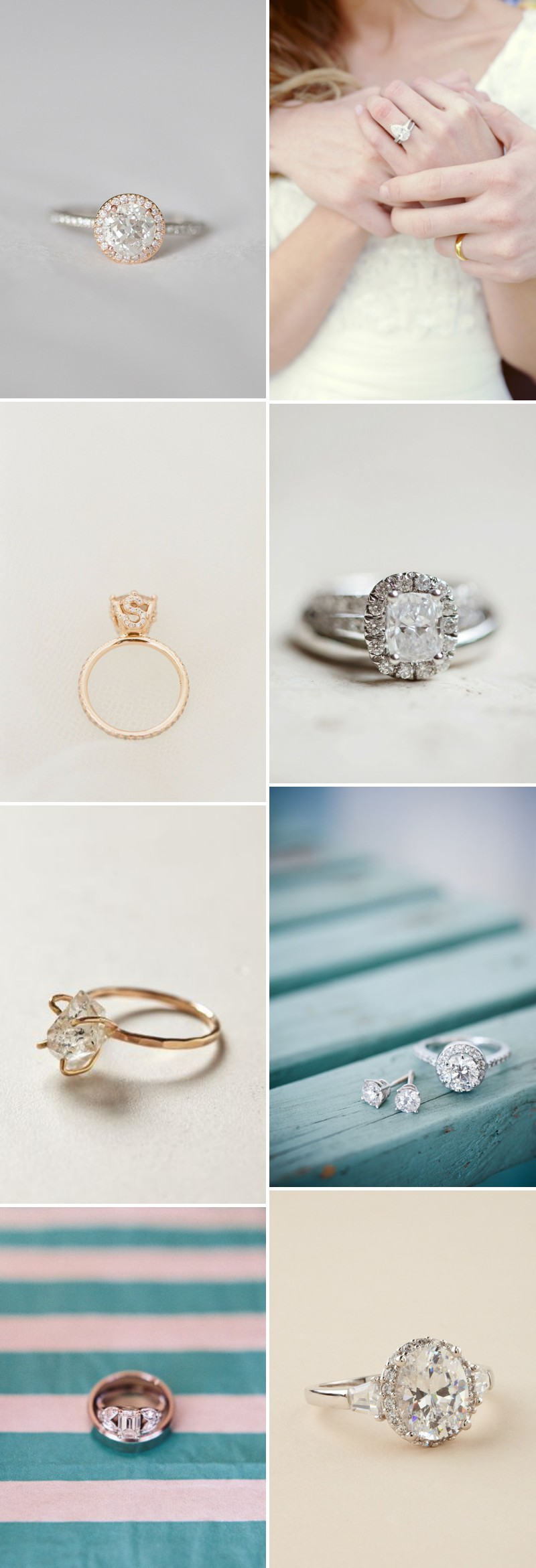 A Beautiful Engagement Ring Discussion And Inspiration Post With Diamonds And Antique Rings. 0001 What Shape Are You?