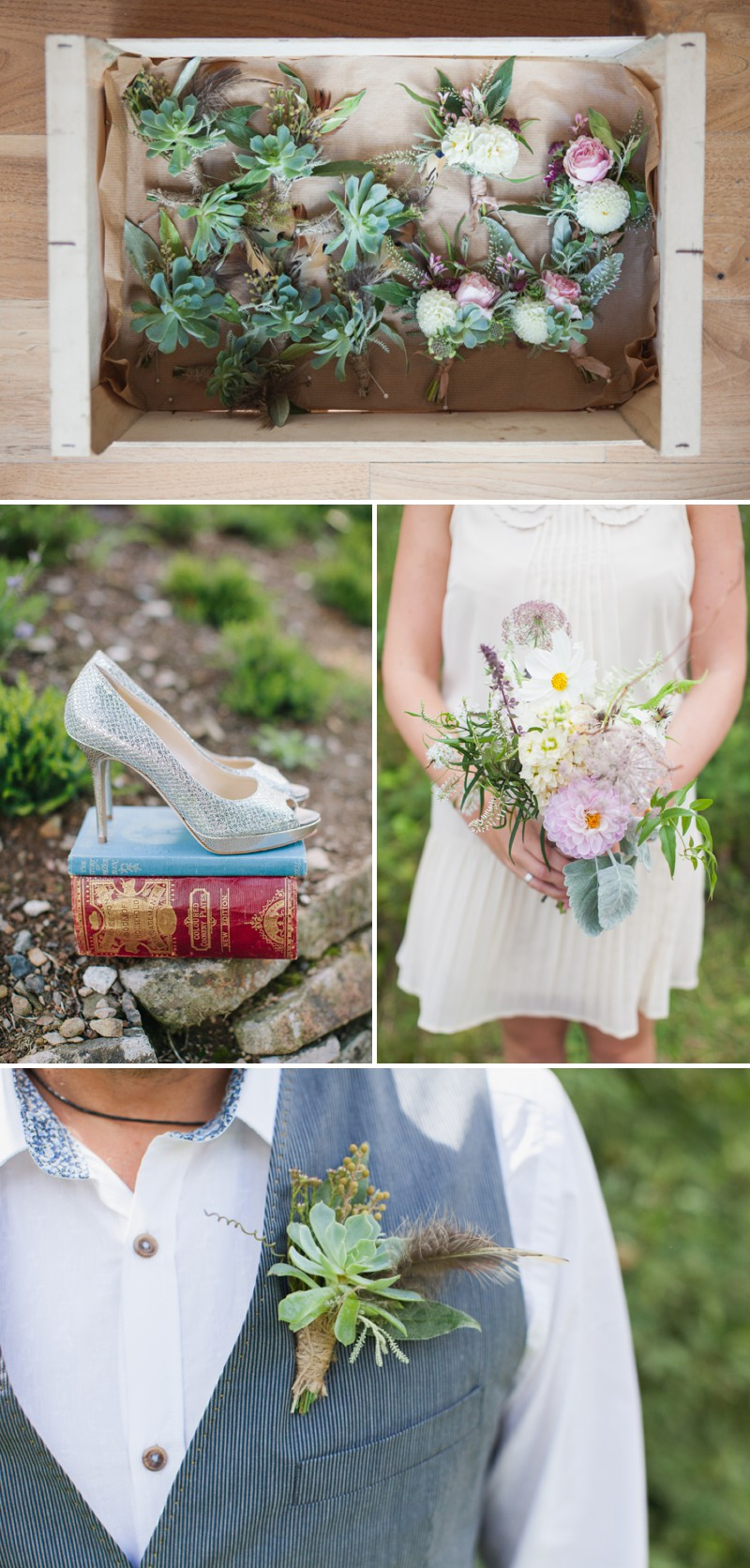 A Beautiful Rustic Peter Pan Themed Wedding With A Daughters Of Simone Wedding Dress At Trevenna Barns in Cornwall With Photography By Hayley Savage._0002