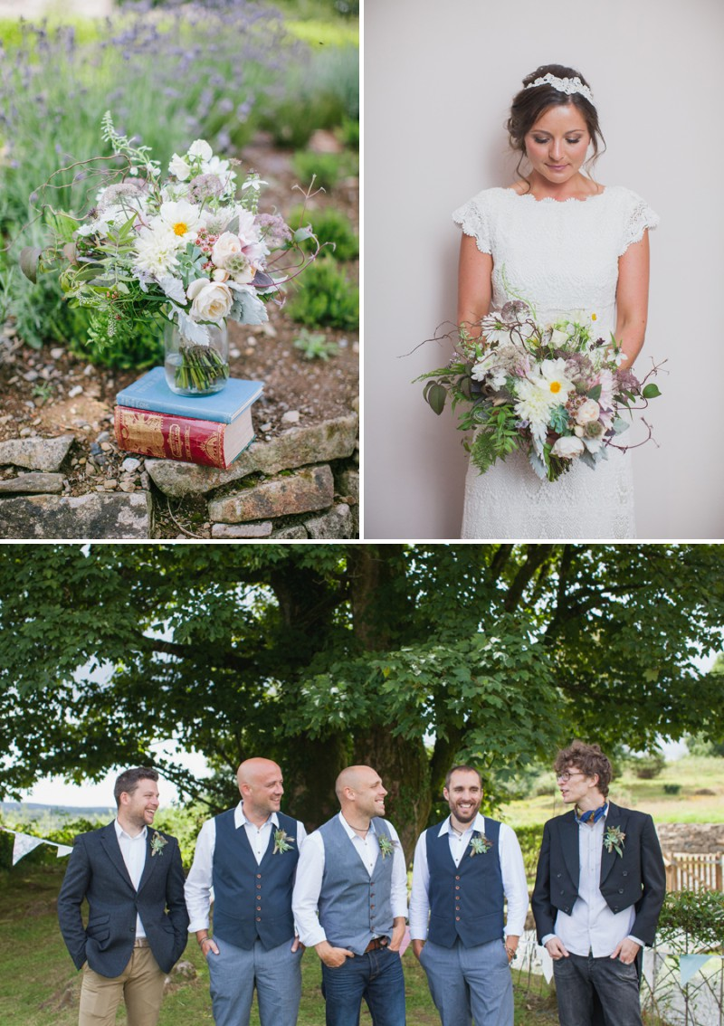 A Beautiful Rustic Peter Pan Themed Wedding With A Daughters Of Simone Wedding Dress At Trevenna Barns in Cornwall With Photography By Hayley Savage._0003