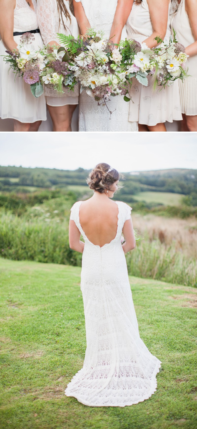 A Beautiful Rustic Peter Pan Themed Wedding With A Daughters Of Simone Wedding Dress At Trevenna Barns in Cornwall With Photography By Hayley Savage._0006