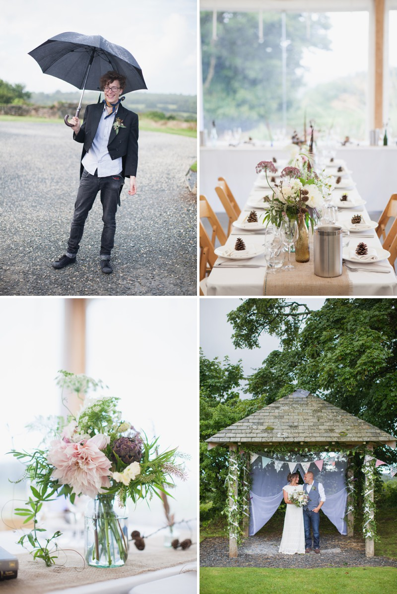 A Beautiful Rustic Peter Pan Themed Wedding With A Daughters Of Simone Wedding Dress At Trevenna Barns in Cornwall With Photography By Hayley Savage._0008