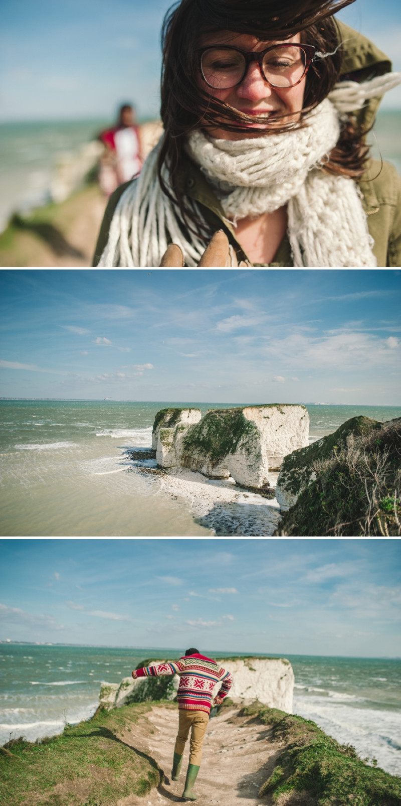A coastal engagement shoot by Rebekah Murray_0558