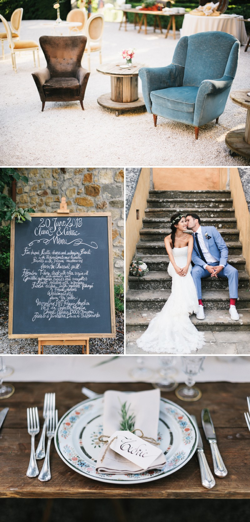A Beautiful Italian Destination Wedding At Villa Di Ulignano With A Pronovias Dress And A Flower Wreath And A Rose Bouquet By Lisa Poggi Photography._0008