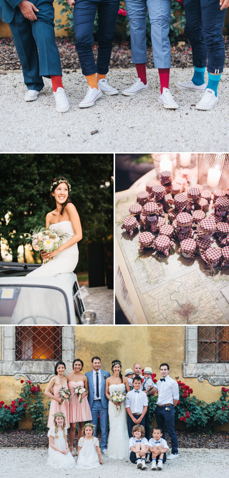 A Beautiful Italian Destination Wedding At Villa Di Ulignano With A Pronovias Dress And A Flower Wreath And A Rose Bouquet By Lisa Poggi Photography._0011