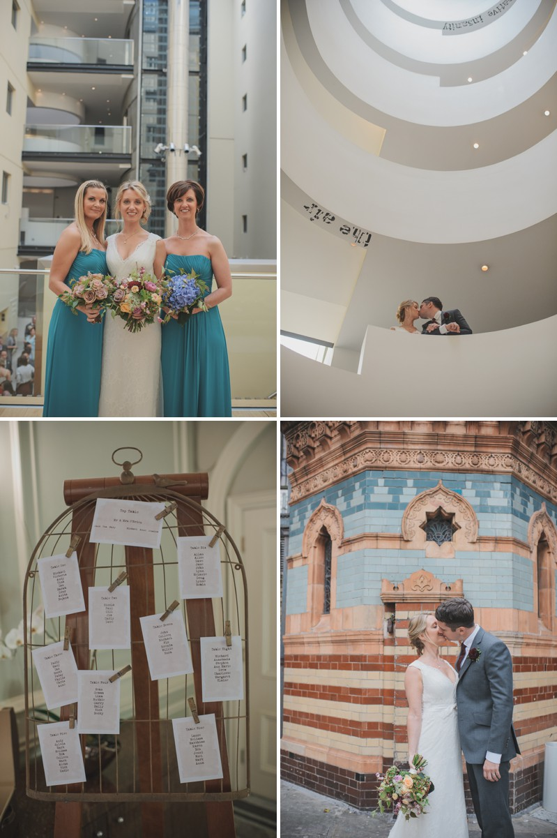 A Modern And Elegant London Wedding At Andaz Hotel With A Handpicked Bouquet And A Lusan Mandongus Dress By O&C Photography_0007