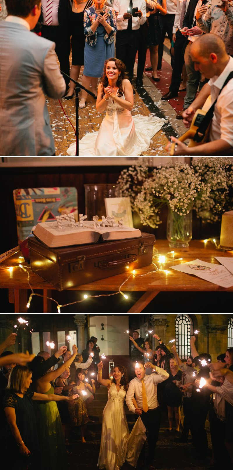 A Thirties Inspired Theatrical Wedding In Hackney London With Bride In Jenny Packham And Mimi By Rachel Simpson Shoes Image By Tarah Coonan 10