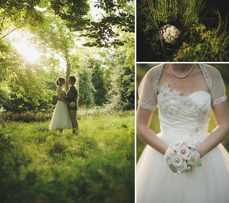 English Garden Wedding: An English Country Garden Tea Party Wedding With Vintage