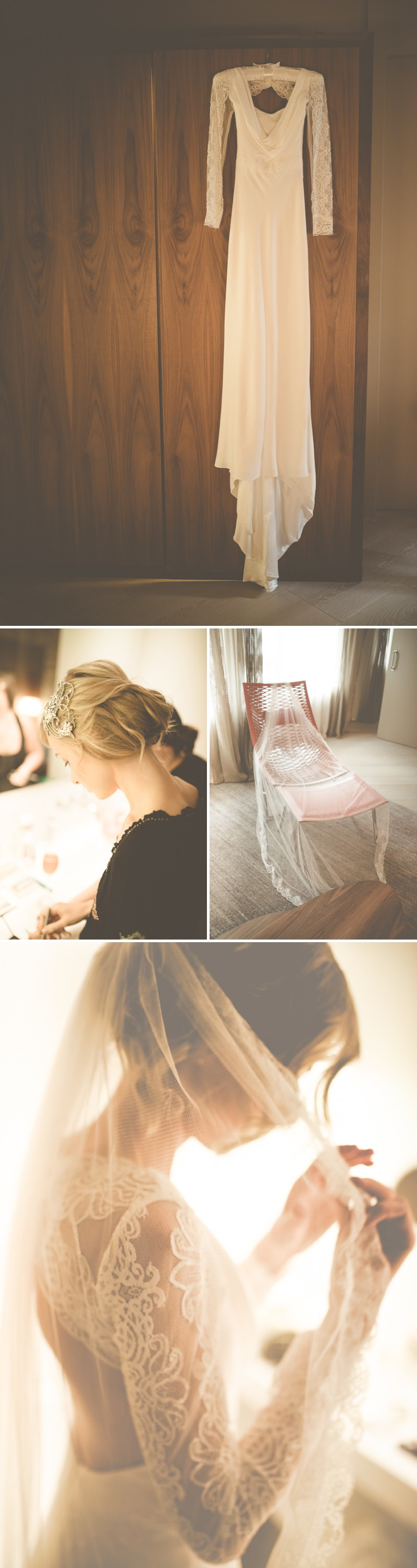 An Intimate And Luxurious Destination Wedding In Barcelona With A Suzanne Neville Regency Dress And A Jenny Packham Valentine Headpiece By Modern Vintage Weddings Photography. 0001 Daiquiris And Flamenco In Beautiful Barcelona.