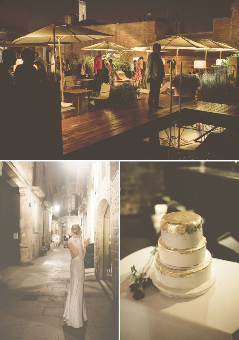 An Intimate And Luxurious Destination Wedding In Barcelona With A Suzanne Neville 'Regency' Dress And A Jenny Packham 'Valentine' Headpiece By Modern Vintage Weddings Photography._0010