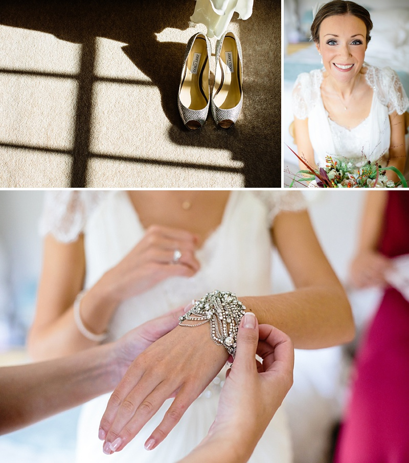 2e9ece91652 ... Aspen by Jenny Packham for a rustic barn wedding with jimmy choo bridal  shoes and an ...