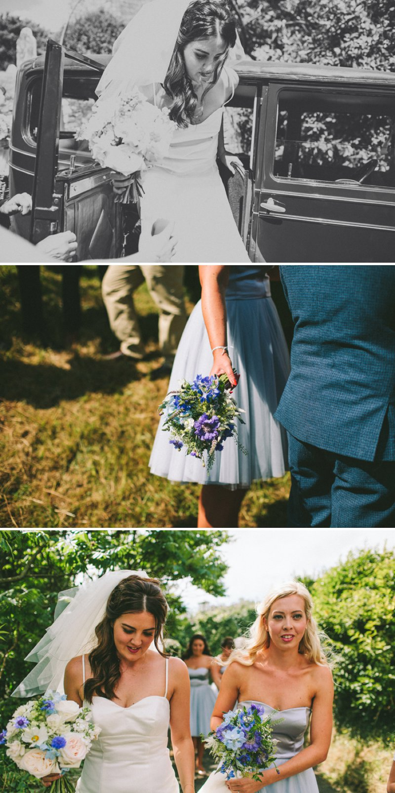 Marquee Wedding In Devon With Bride In Christian Louboutin Shoes With Images From SD Photography 2