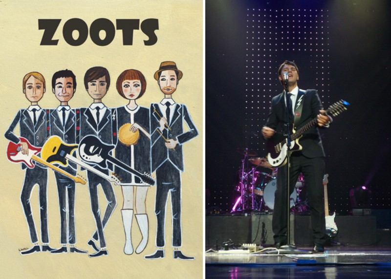 The Zoots South West UK Wedding Entertainment Live Band 0001 RMW Rates   The Zoots