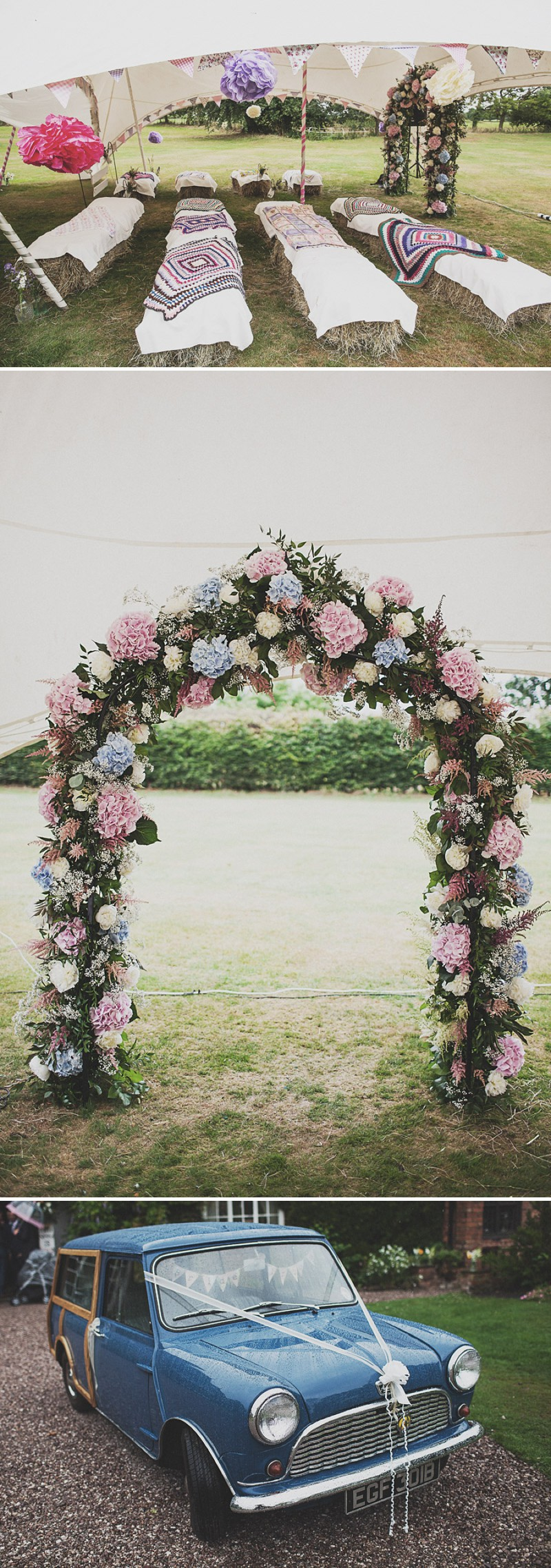 A Festival Inspired Bohemian Wedding With Wildflowers And A Floral Crown At Haslington Hall By Anna Hardy Photography. 0001 Wildflowers At Wedfest.