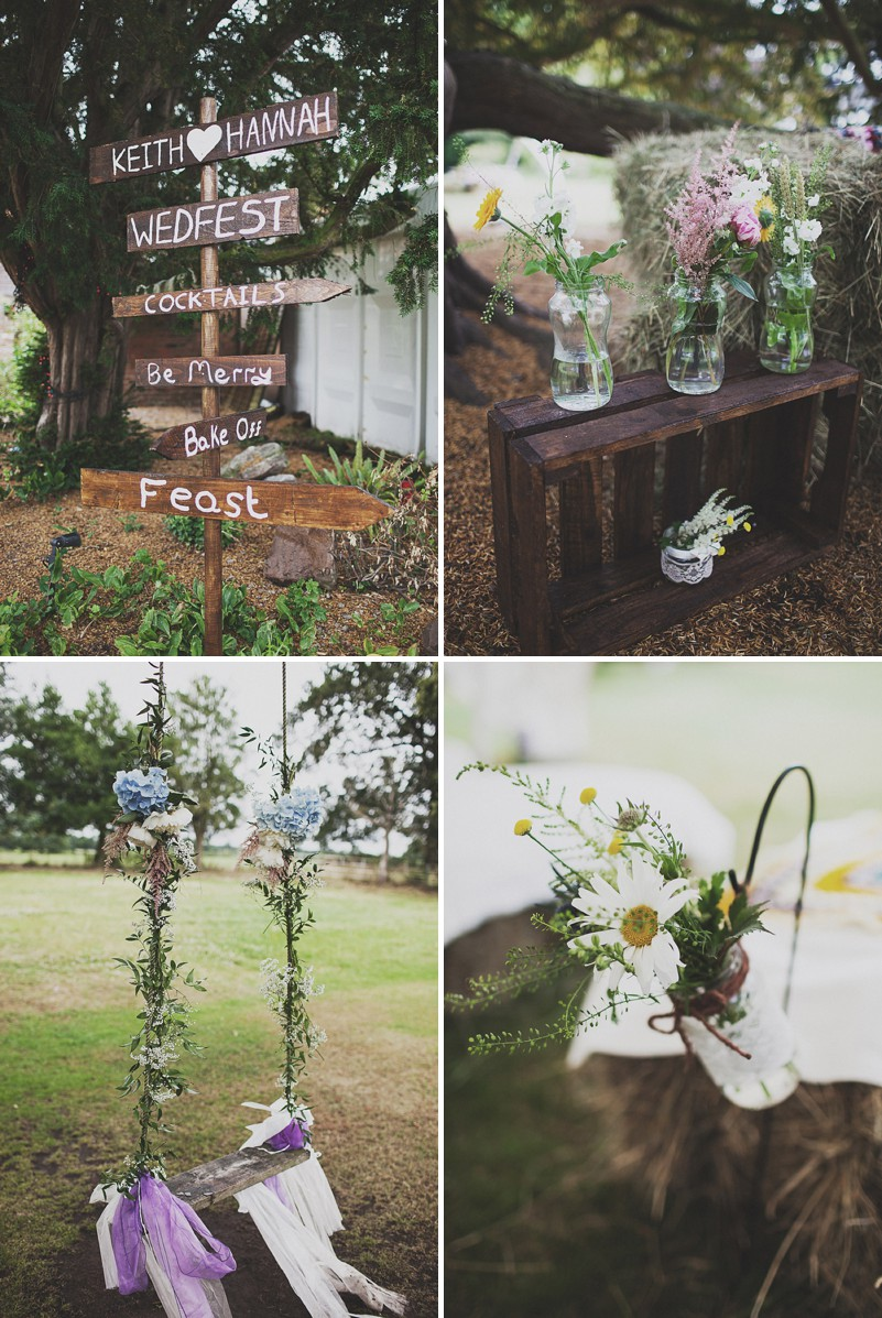 A Festival Inspired Bohemian Wedding With Wildflowers And A Floral Crown At Haslington Hall By Anna Hardy Photography._0003