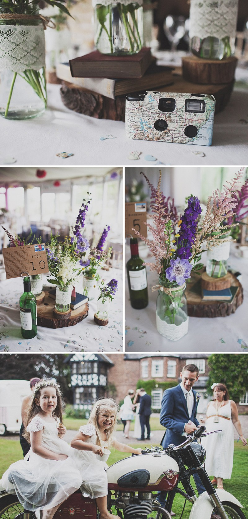 A Festival Inspired Bohemian Wedding With Wildflowers And A Floral Crown At Haslington Hall By Anna Hardy Photography._0010