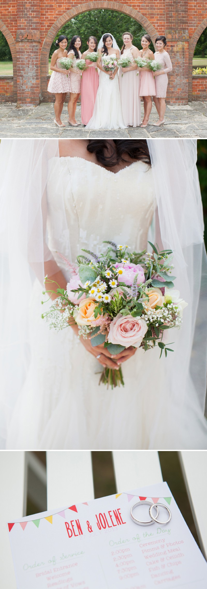 A Fun And Pretty English Garden Wedding At Lains Barn In Oxford With A Stephanie Allin Hayworth Dress And A Peony Bouquet By Hayley Savage Photography._0003