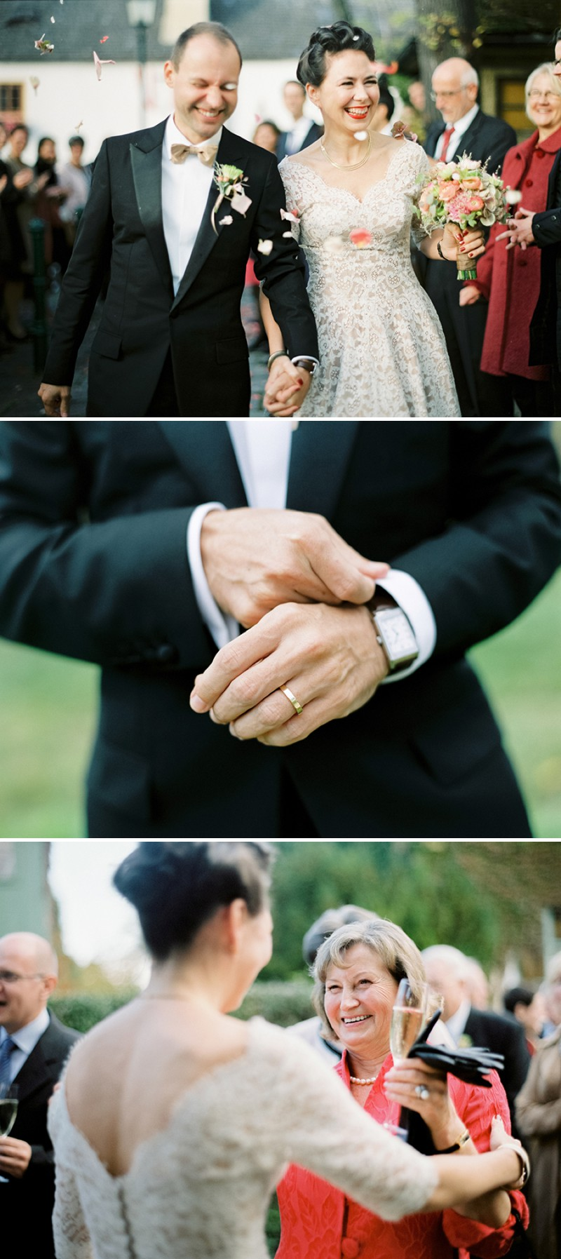 2c7cf3033d1 ... A Luxury And Intimate 1950s Style Autumn Wedding In Vienna With A Lena  Hoschek Dress And ...