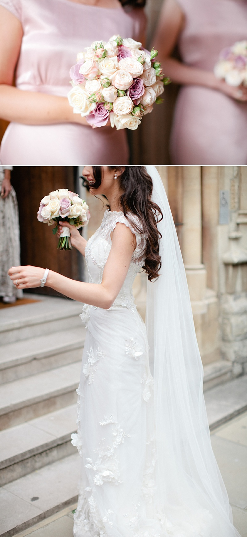 A wedding at Claridges in London with a Yolan Cris and Jenny Packham esme wedding dress 0085 Sophisticated Elegance At Claridges.