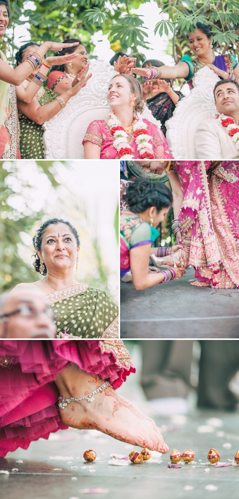 An Exotic Indian and English Fusion Wedding At Sefton Park Palm House In Liverpool With A Beautiful Vintage Lagonda And A Pink Handpicked Bouquet By Wookie Photography._0006