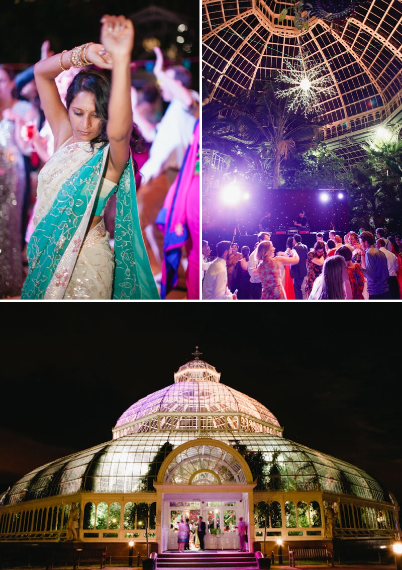 An Exotic Indian and English Fusion Wedding At Sefton Park Palm House In Liverpool With A Beautiful Vintage Lagonda And A Pink Handpicked Bouquet By Wookie Photography._0010