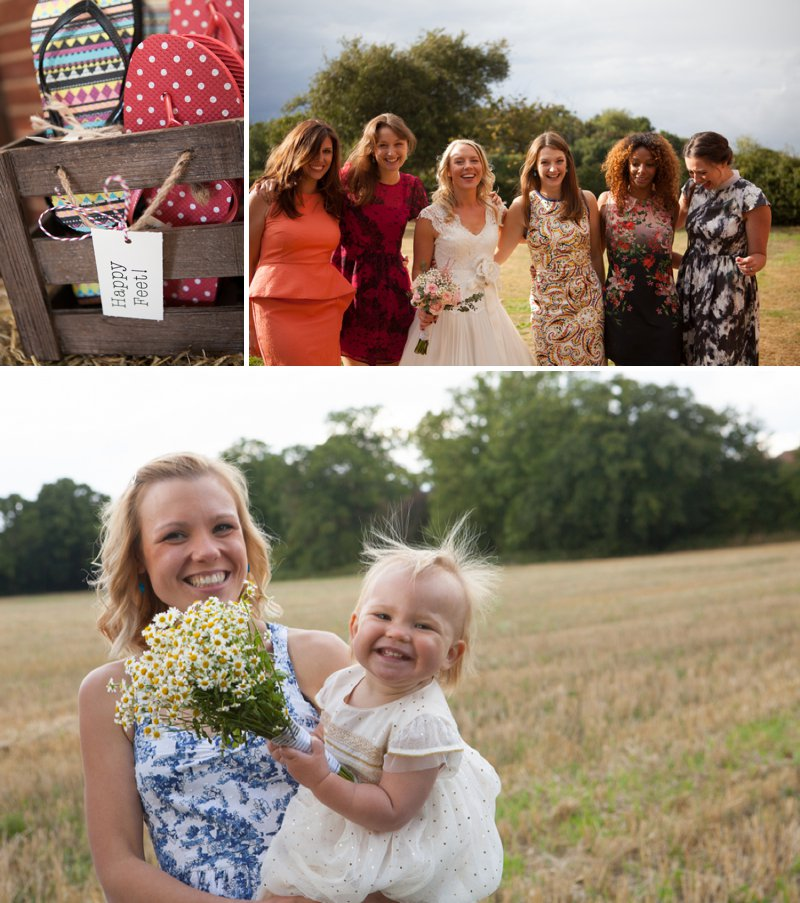 DIY Wedding At Rotherwick Village Hall Hampshire With Bride In Marianne By Naomi Neoh And Ginger By Rachel Simpson Shoes With All Flower Arrangements Made By The Bride And Yellow Details Images By Betti Confetti Photography 8