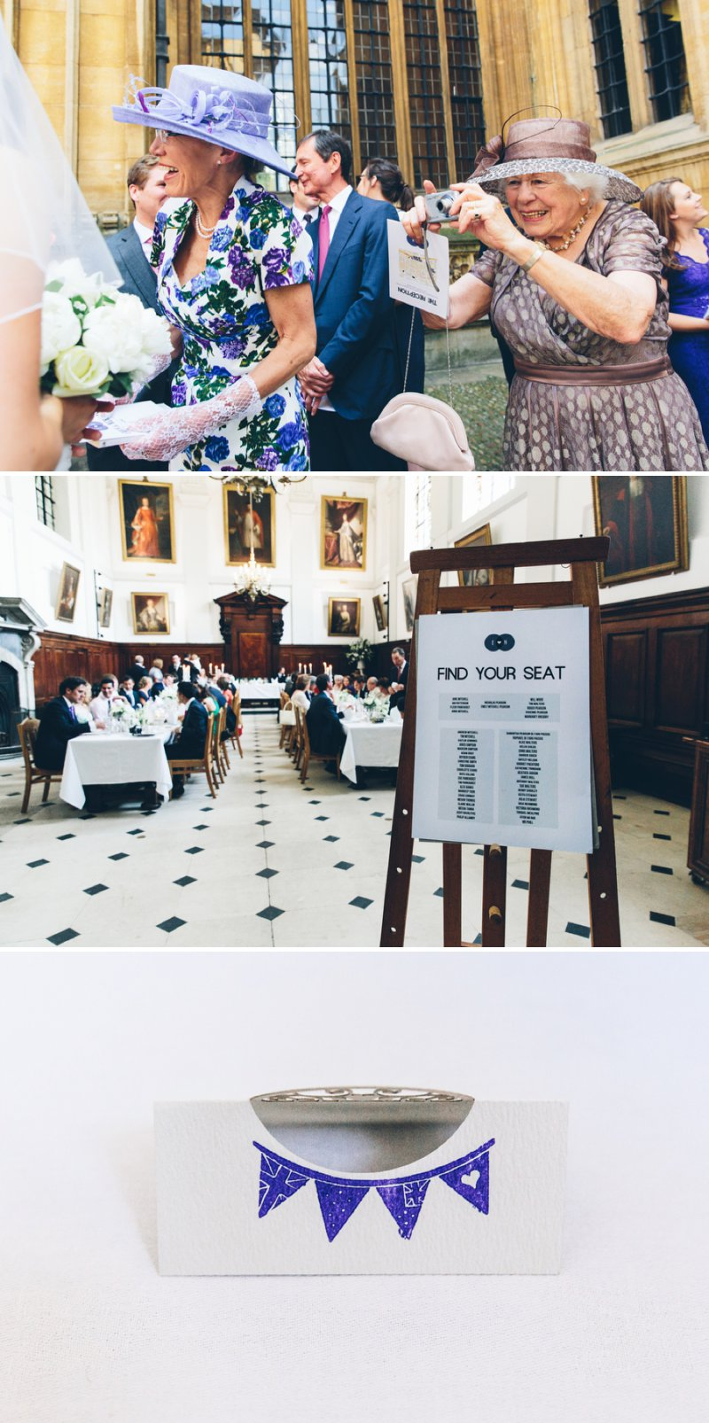 Elegant Contemporary Wedding At The Bodleian Library Queens College Oxford With Bride In Ulanova By Pronovias And Jimmy Choo Heels With Groom In Suit By Cad And The Dandy And Bridesmaids In Royal Blue Images By Mister Phill 5
