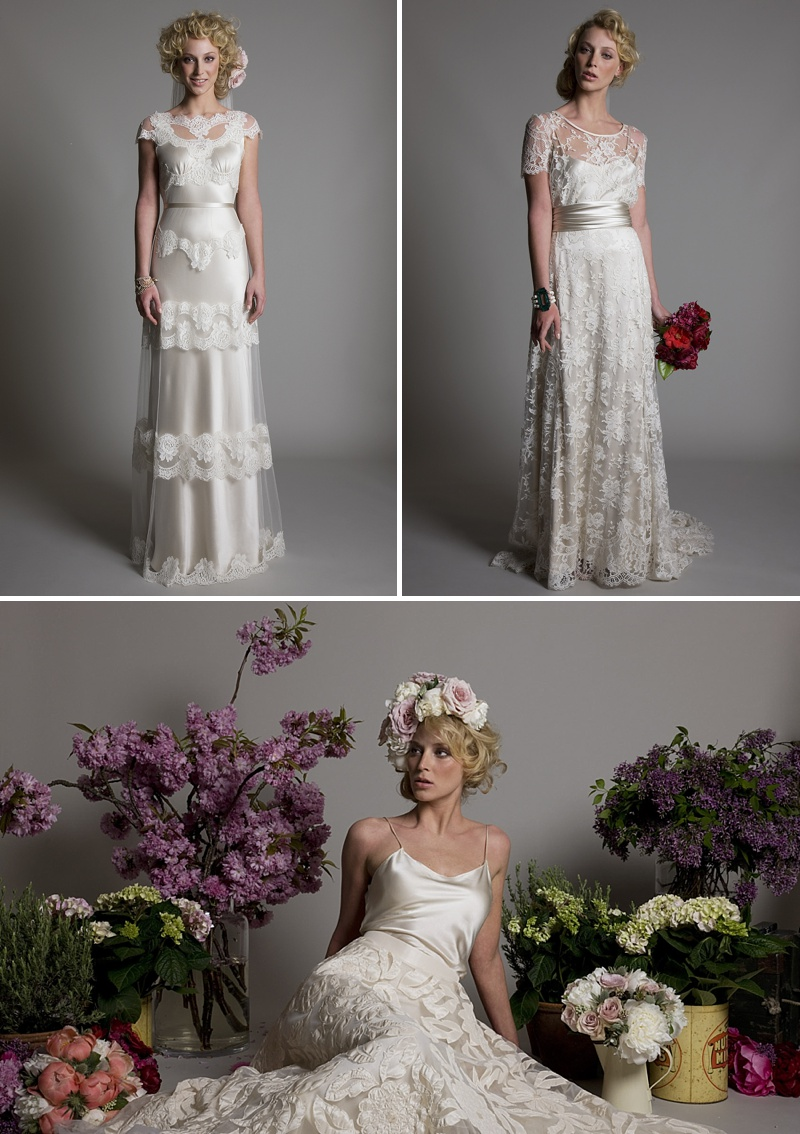 Beautiful Vintage And Couture Wedding Dresses And Gowns By