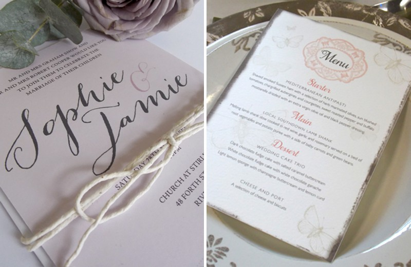 Printed Love Co. Bespoke Wedding Stationery Scotland 0004 RMW Rates   Printed Love Co.