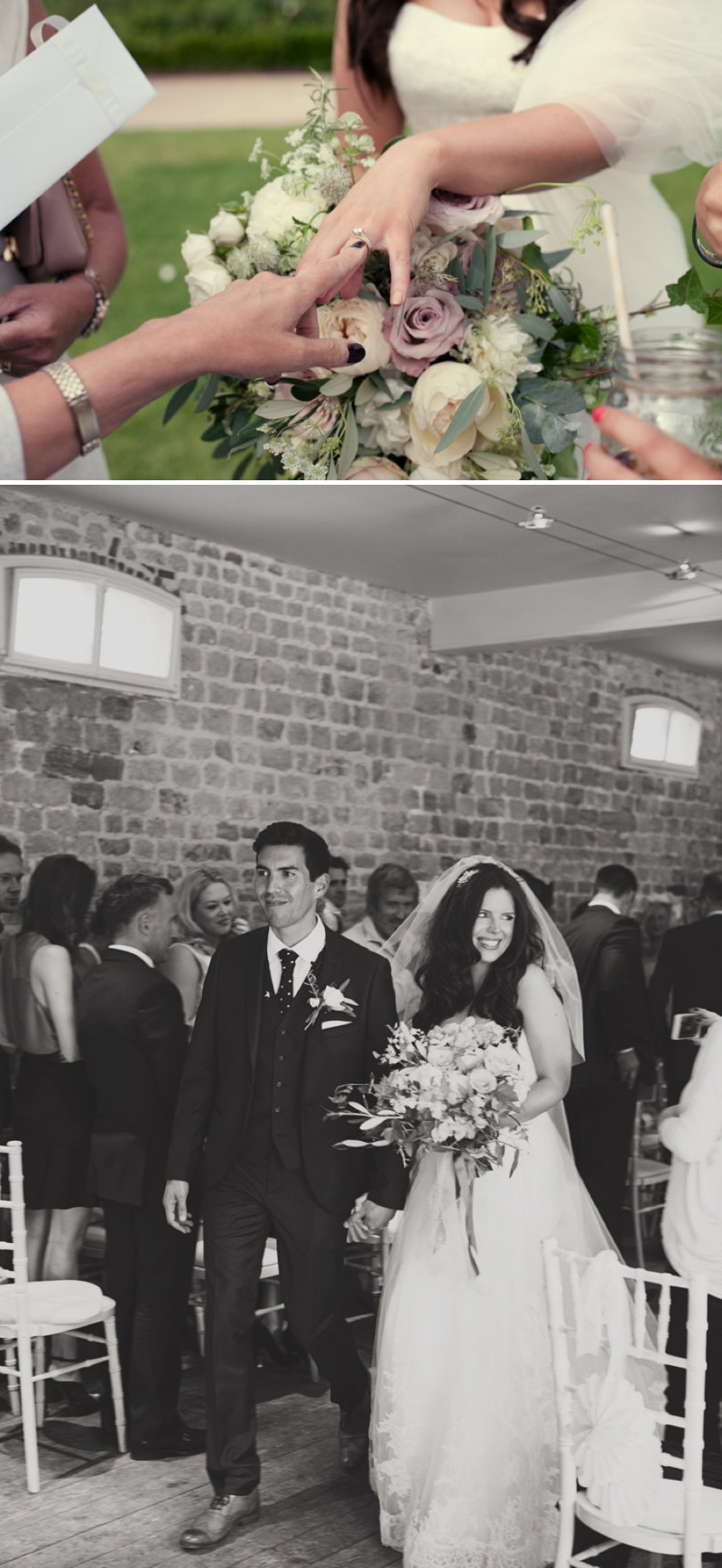 Stylish Wedding At The Walled Garden Cowdray With Bride In San Patrick Dress And Jimmy Choo Shoes And A Malene Birger Sequinned Jacket And Groom In Navy Suit From Topman 5 The Modern Love Letter.