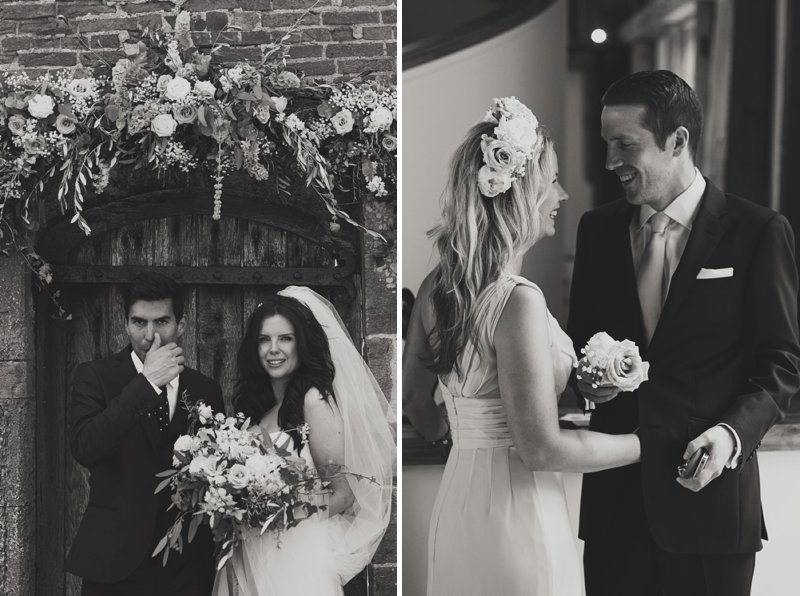 Stylish Wedding At The Walled Garden Cowdray With Bride In San Patrick Dress And Jimmy Choo Shoes And A Malene Birger Sequinned Jacket And Groom In Navy Suit From Topman 8 The Modern Love Letter.