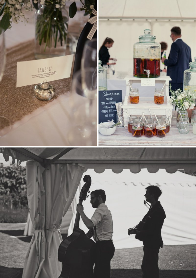 Stylish Wedding At The Walled Garden Cowdray With Bride In San Patrick Dress And Jimmy Choo Shoes And A Malene Birger Sequinned Jacket And Groom In Navy Suit From Topman 9 The Modern Love Letter.