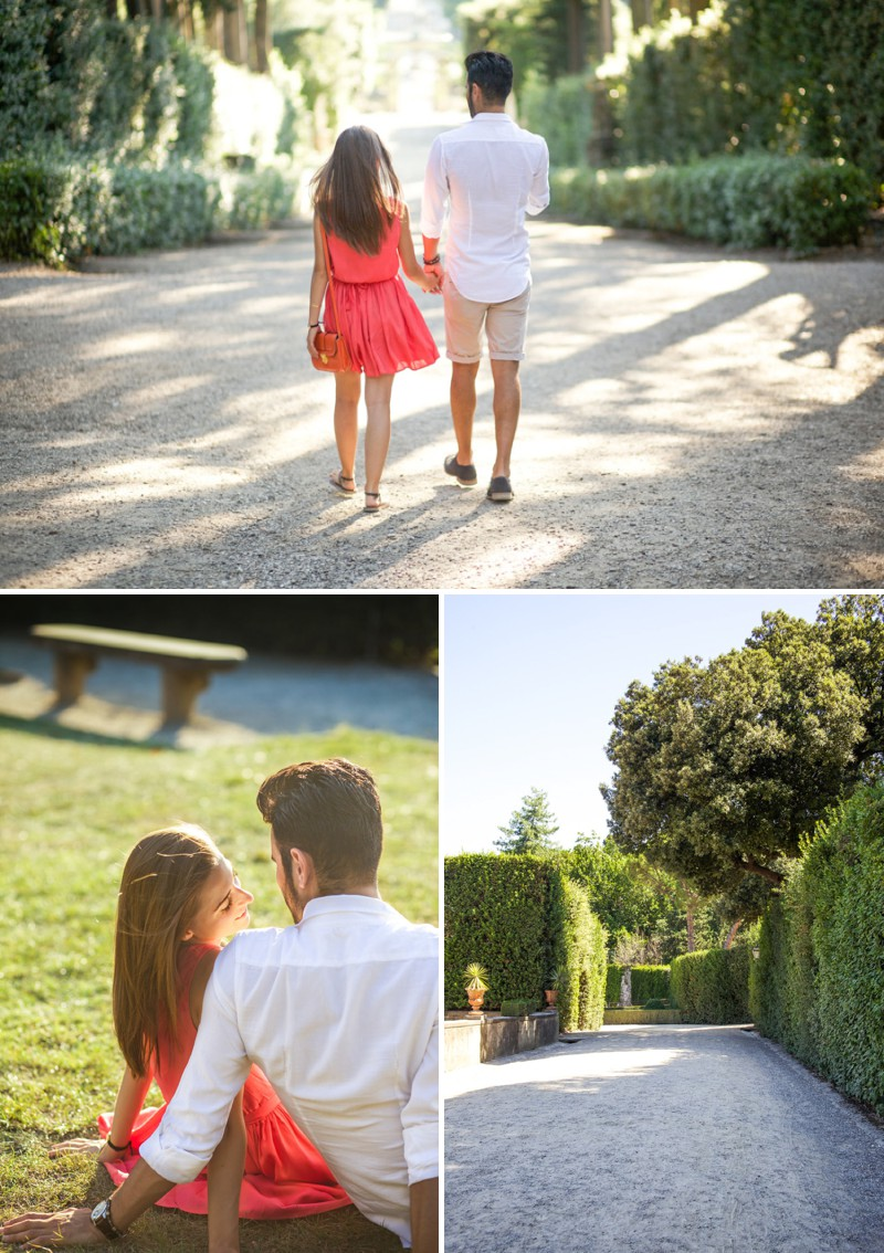 A Beautiful Italian Engagement Shoot In Florence With A Romantic Love Story At Pitti Palace Photographed By Xander & Thea Wedding & Lifestyle Photography._0002